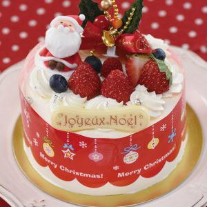 苺のクリスマスショートケーキ